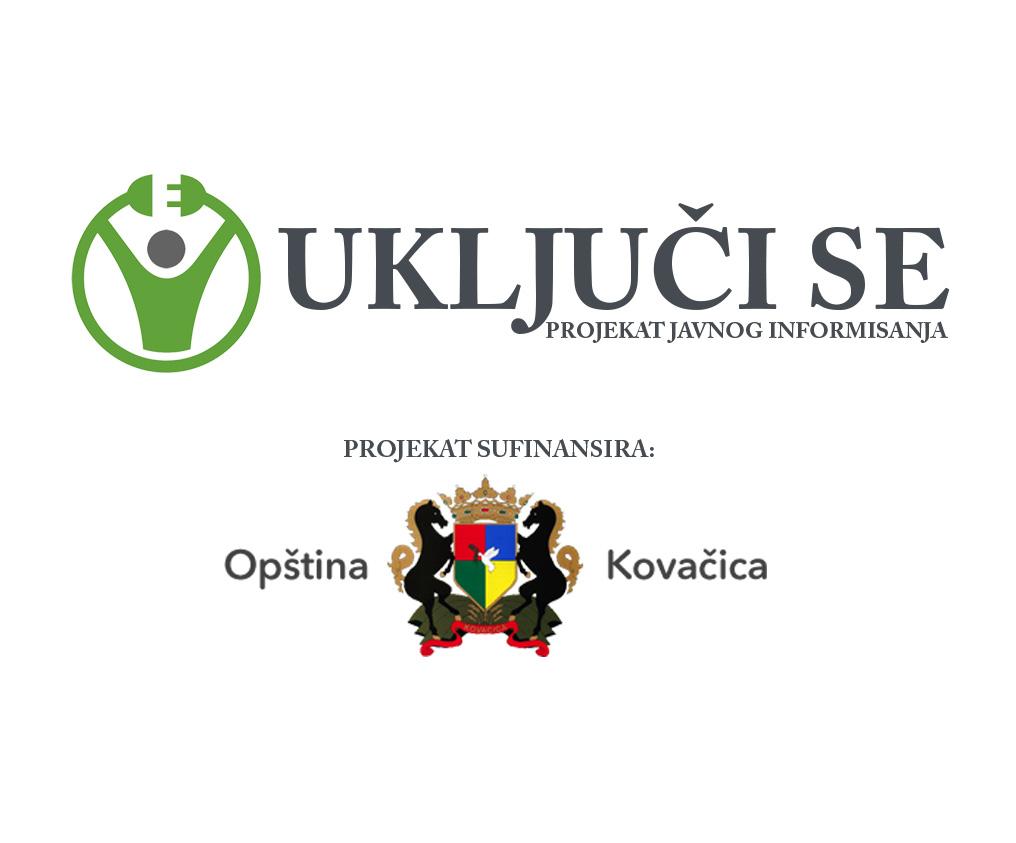 UkljuciSe-Kovacica-Logo